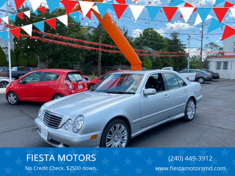 2002 Mercedes-Benz E-Class for sale at FIESTA MOTORS in Hagerstown MD