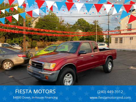 2000 Toyota Tacoma for sale at FIESTA MOTORS in Hagerstown MD