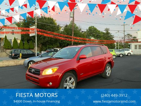 2008 Toyota RAV4 for sale at FIESTA MOTORS in Hagerstown MD
