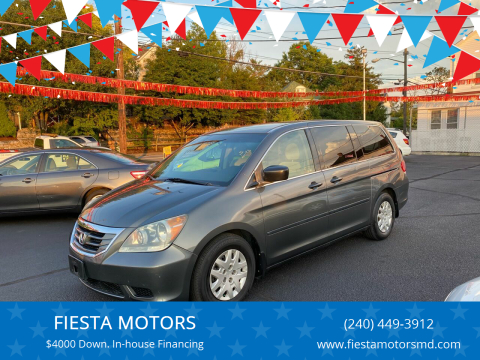 2008 Honda Odyssey for sale at FIESTA MOTORS in Hagerstown MD