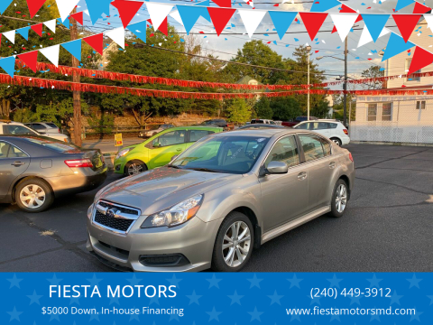 2014 Subaru Legacy for sale at FIESTA MOTORS in Hagerstown MD