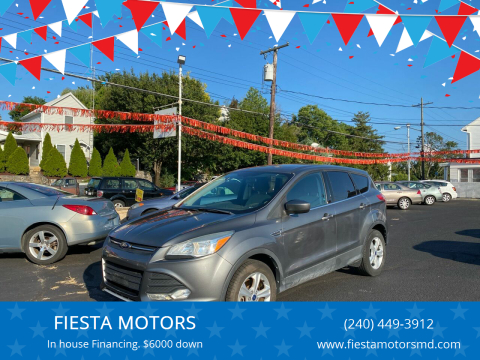 2014 Ford Escape for sale at FIESTA MOTORS in Hagerstown MD