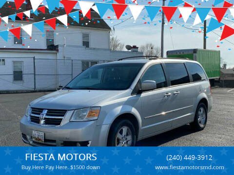 2010 Dodge Grand Caravan for sale at FIESTA MOTORS in Hagerstown MD