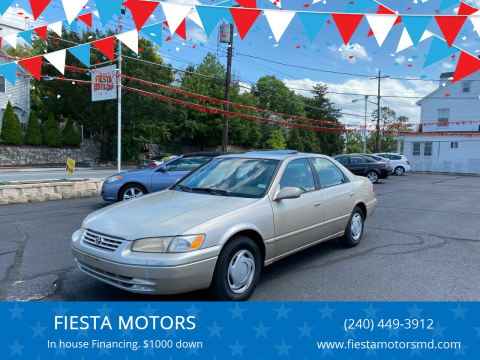 1999 Toyota Camry for sale at FIESTA MOTORS in Hagerstown MD