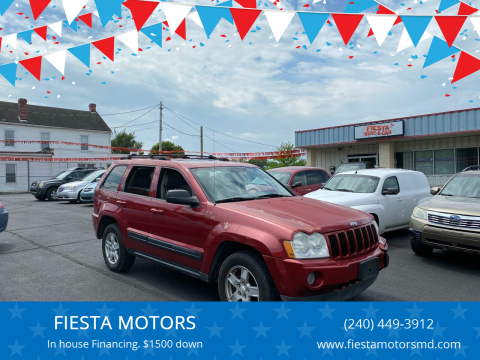 2006 Jeep Grand Cherokee for sale at FIESTA MOTORS in Hagerstown MD