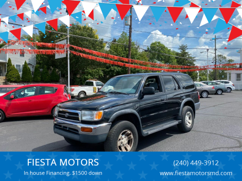 1996 Toyota 4Runner for sale at FIESTA MOTORS in Hagerstown MD