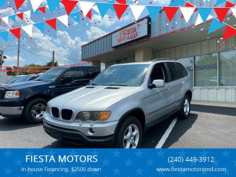 2003 BMW X5 for sale at FIESTA MOTORS in Hagerstown MD