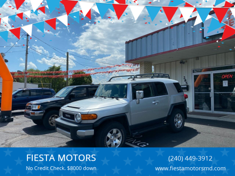 2007 Toyota FJ Cruiser for sale at FIESTA MOTORS in Hagerstown MD