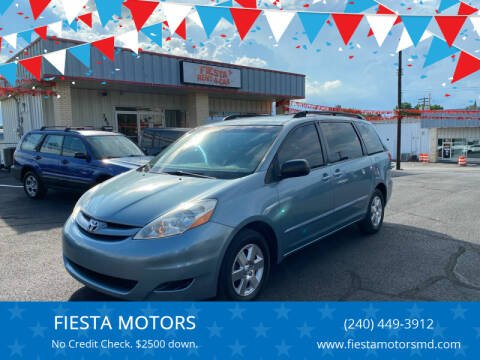 2008 Toyota Sienna for sale at FIESTA MOTORS in Hagerstown MD