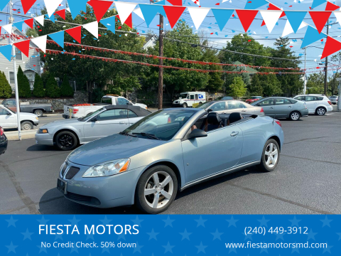 2007 Pontiac G6 for sale at FIESTA MOTORS in Hagerstown MD