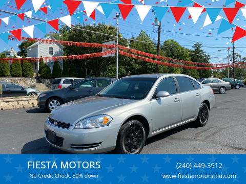 2008 Chevrolet Impala for sale at FIESTA MOTORS in Hagerstown MD
