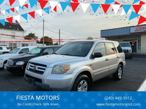2006 Honda Pilot for sale at FIESTA MOTORS in Hagerstown MD
