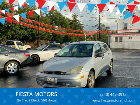 2004 Ford Focus for sale at FIESTA MOTORS in Hagerstown MD
