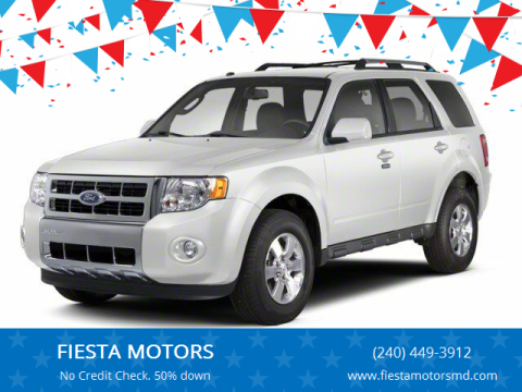 2012 Ford Escape for sale at FIESTA MOTORS in Hagerstown MD