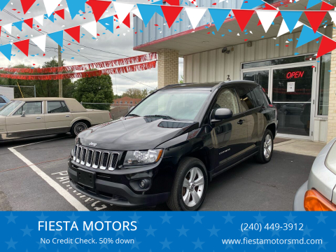 2016 Jeep Compass for sale at FIESTA MOTORS in Hagerstown MD