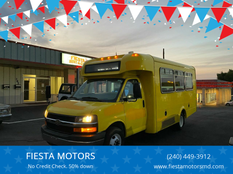 2014 Chevrolet Express Cutaway for sale at FIESTA MOTORS in Hagerstown MD