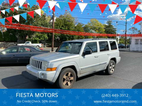 2006 Jeep Commander for sale at FIESTA MOTORS in Hagerstown MD