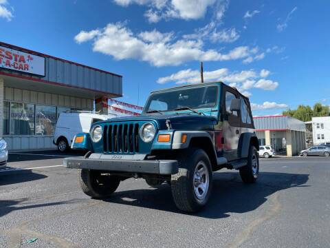1997 Jeep Wrangler for sale at FIESTA MOTORS in Hagerstown MD