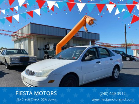 2007 Ford Focus for sale at FIESTA MOTORS in Hagerstown MD