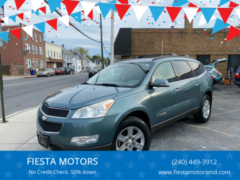 2009 Chevrolet Traverse for sale at FIESTA MOTORS in Hagerstown MD