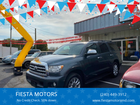 2010 Toyota Sequoia for sale at FIESTA MOTORS in Hagerstown MD