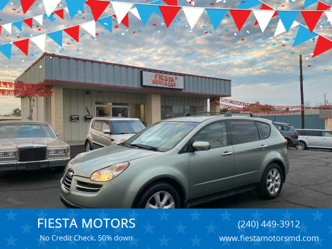 2006 Subaru B9 Tribeca for sale at FIESTA MOTORS in Hagerstown MD