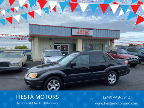 2005 Subaru Baja for sale at FIESTA MOTORS in Hagerstown MD