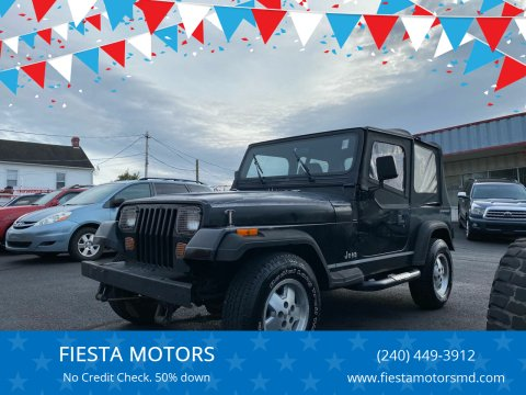 1994 Jeep Wrangler for sale at FIESTA MOTORS in Hagerstown MD