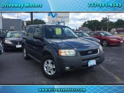 2001 Ford Escape for sale in Virignia Beach, VA