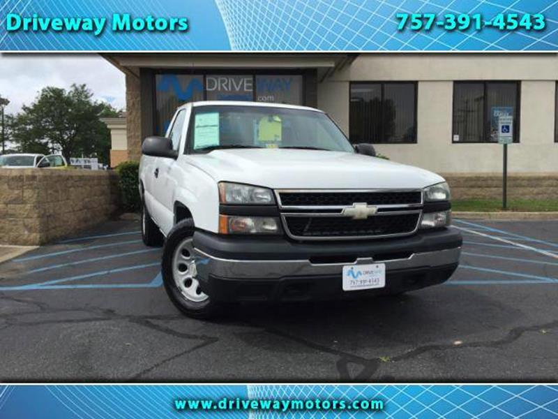 2006 chevrolet silverado 1500 work truck in virginia beach