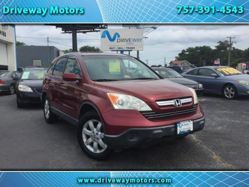 2007 Honda CR V For Sale At Driveway Motors In Virginia Beach VA
