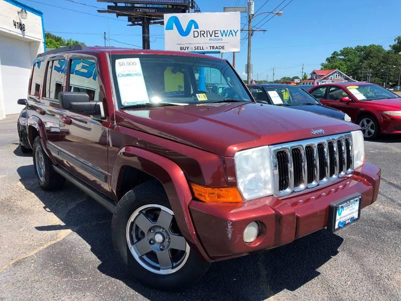 2007 Jeep Commander For Sale At Driveway Motors In Virginia Beach VA