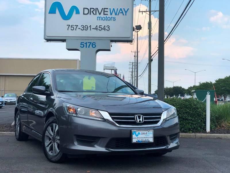 2014 Honda Accord For Sale At Driveway Motors In Virginia Beach VA