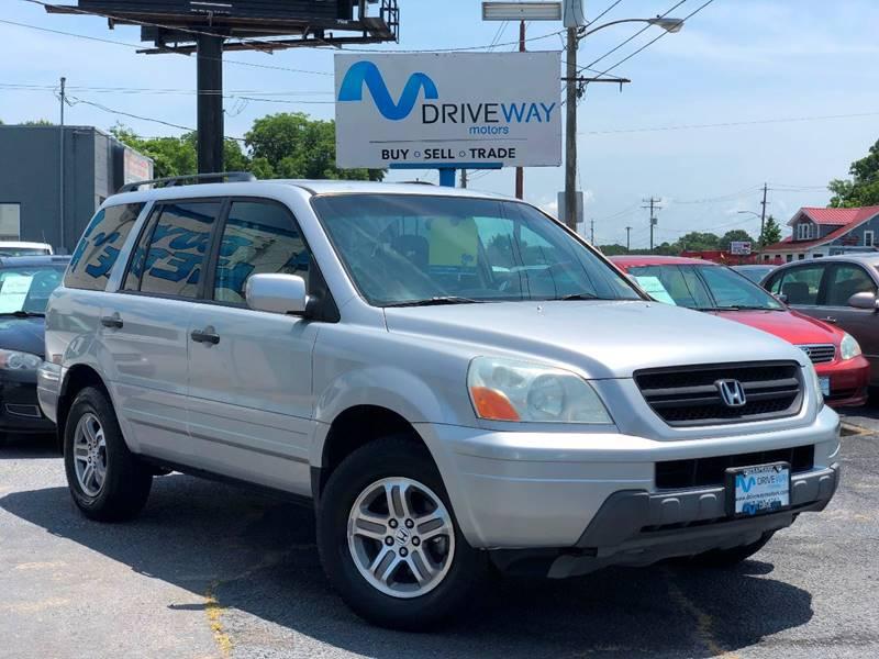 2004 Honda Pilot For Sale At Driveway Motors In Virginia Beach VA