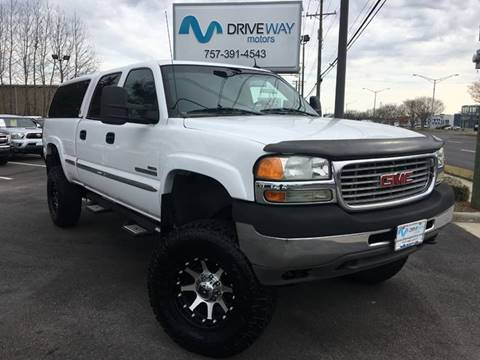 2002 GMC Sierra 2500HD for sale in Virginia Beach, VA