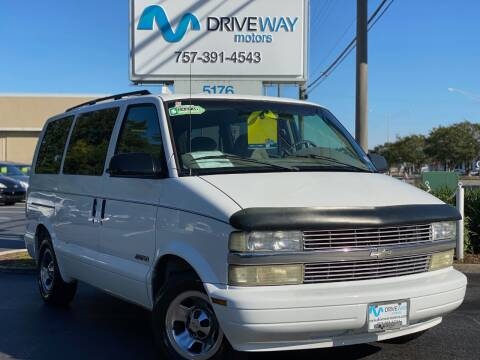 2002 Chevrolet Astro for sale at Driveway Motors in Virginia Beach VA