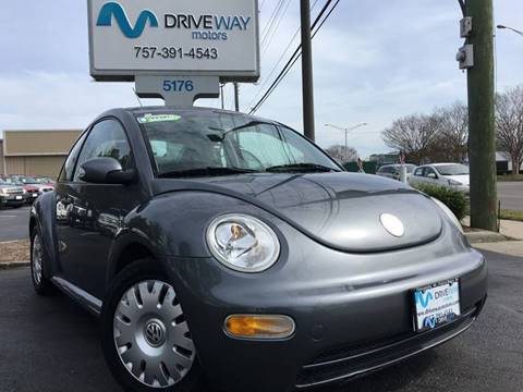 2004 Volkswagen New Beetle for sale at Driveway Motors in Virginia Beach VA