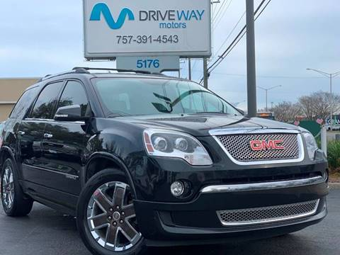 2012 GMC Acadia for sale at Driveway Motors in Virginia Beach VA