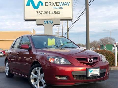 2008 Mazda MAZDA3 for sale at Driveway Motors in Virginia Beach VA