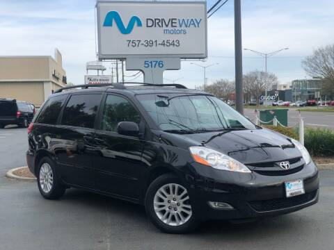 2008 Toyota Sienna for sale at Driveway Motors in Virginia Beach VA