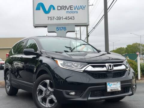 2017 Honda CR-V for sale at Driveway Motors in Virginia Beach VA