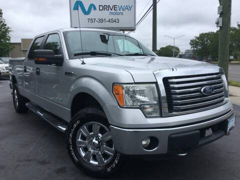 2012 Ford F-150 for sale at Driveway Motors in Virginia Beach VA