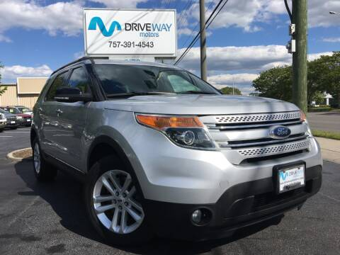 2015 Ford Explorer for sale at Driveway Motors in Virginia Beach VA