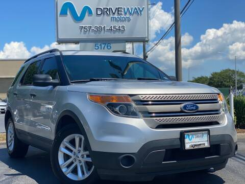 2013 Ford Explorer for sale at Driveway Motors in Virginia Beach VA