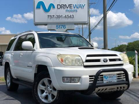 2005 Toyota 4Runner for sale at Driveway Motors in Virginia Beach VA