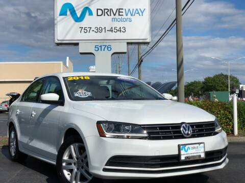 2018 Volkswagen Jetta for sale at Driveway Motors in Virginia Beach VA