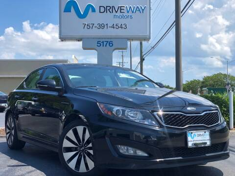 2013 Kia Optima for sale at Driveway Motors in Virginia Beach VA