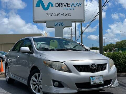2010 Toyota Corolla for sale at Driveway Motors in Virginia Beach VA
