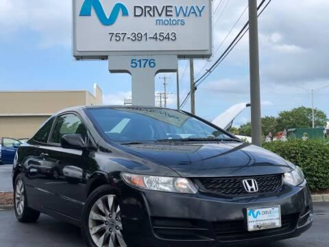 2010 Honda Civic for sale at Driveway Motors in Virginia Beach VA