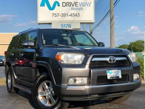 2012 Toyota 4Runner for sale at Driveway Motors in Virginia Beach VA